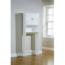 Colonial 23 x 59cm Bathroom Cabinet in White