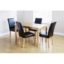 Lisbon 5 Piece Dining Set