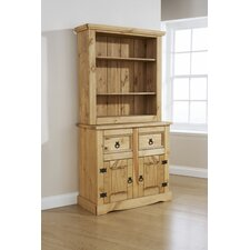 Monterrey 2 Drawer Tall Display Cabinet