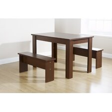 Chicago 3 Piece Dining Set