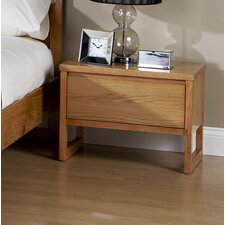 Chloe Cherry 1 Drawer Bedside Table