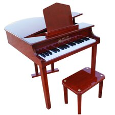 Concert Grand Piano with Opening Top in Mahogany