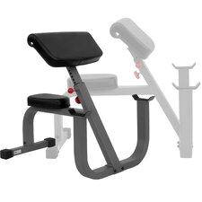 Commercial Seated Preacher Curl Weight Bench