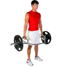 Olympic Shrug Bar with Raised Handle