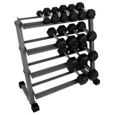 <strong>X-Mark</strong> 3' Four Tier Dumbbell Rack