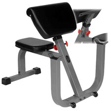 Seated Preacher Curl Weight Bench