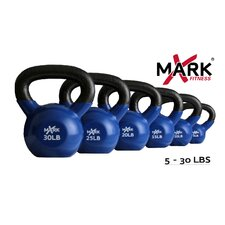 5 to 30 lb. Premium Vinyl Coated Kettlebell Set