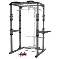 Commercial Power Rack with Pull Up Bar