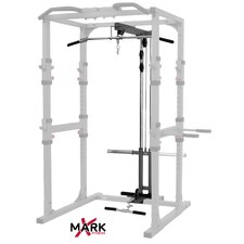 Commercial Power Cage Lat Pulldown and Low Row Attachment