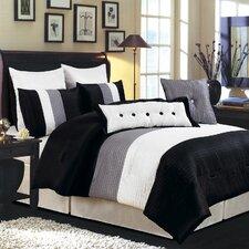 LaCozee Classic 8 Piece Oversized Comforter Set