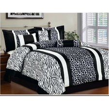 Safari 7 Piece Comforter Set