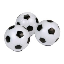 Soccer Ball Style Foosball - Pack of 3