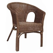 Rattan Chair in Brown