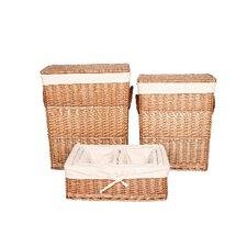 Willow Laundry and Storage Basket 6 Piece Set