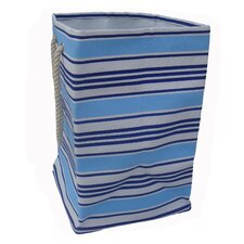 One Piece Square Soft Storage in Blue Stripe
