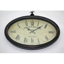London Brige Oval Wall Clock