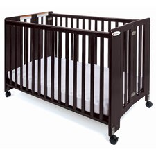 "<strong>Foundations</strong> Foundations Full Size HideAway Nursery Folding Fixed Side Crib with 2"" Casters"