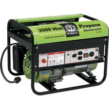 3,500 Watt Propane Powered Generator