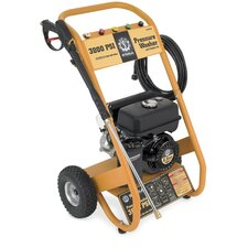 3000 PSI Portable Gas Powered Pressure Washer