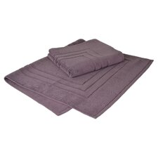 Growers 100% Supima Zero-Twist Cotton Bath Mat (Set of 2)