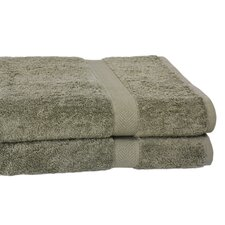 All American Line 100% Supima Cotton Oversized Bath Sheet (Set of 2)