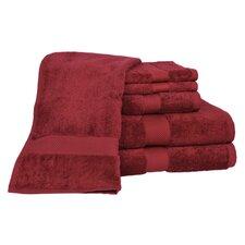 100% Supima Cotton 6-Piece Towel Set