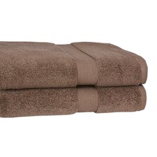 <strong>Calcot Ltd.</strong> 100% Supima Zero-Twist Cotton 2-Piece Oversized Bath Sheet/Towel Set