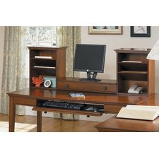 "Hudson Valley 60"" Writing Desk with Hutch"
