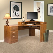 <strong>OS Home & Office Furniture</strong> Office Adaptations Reversible Corner Desk Office Suite