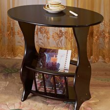 <strong>Mega Home</strong> Magazine End Table