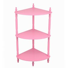 "3 Tier Corner 27.75"" Bookcase"