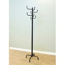 Modern Style Eight Hook Metal Coat Rack