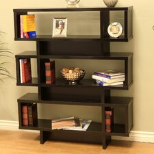 "Tier Display Cabinet 53"" Bookcase"