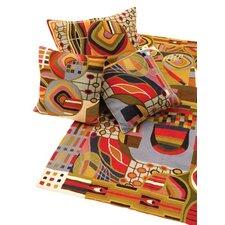 Abstract Art Hundertwasser Chain-stitch Rug