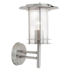 York 1 Light Semi-Flush Wall Light