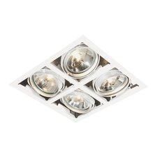 Box Four Light Recessed Downlight