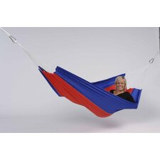 Silk Traveller Flower Outdoor Hammock in Red-Blue