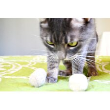 Wool Ball Cat Toy (Pack of 3)