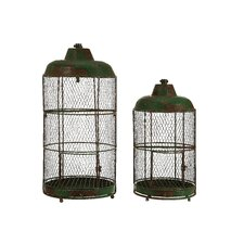Lake Living Bird Cage (Set of 2)