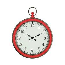 Heart & Home Oversized Pocket Watch Wall Clock