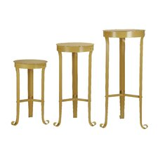 <strong>Creative Co-Op</strong> Heart & Home 3 Piece Plant Stands / Tables