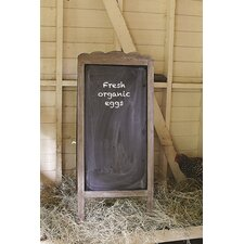 Casual Country Wood 2 Side Blackboard
