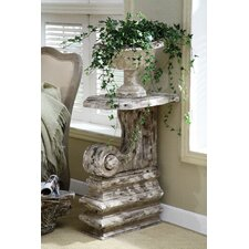 Chateau 2 Piece Resin Plant Stand