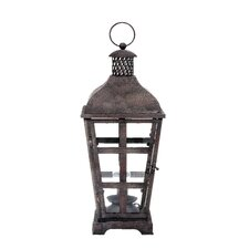 Hacienda Metal Electric Lantern