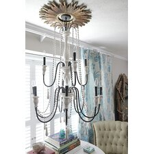 <strong>Creative Co-Op</strong> Uptown 12 Light Chandelier