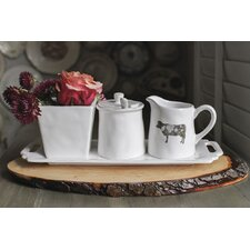 Casual Country 4 Piece Tray Set