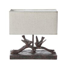 "Haven 12"" H Table Lamp with Rectangular Shade (Set of 2)"
