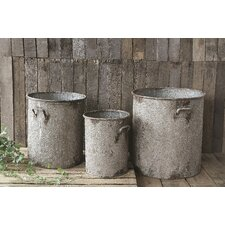 Casual Country Iron Barrel (Set of 3)