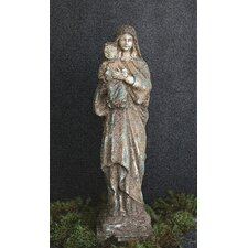 Reproduction of Vintage Mary and Child Statue
