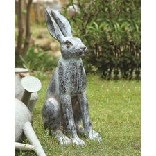 Resin Rabbit Statue